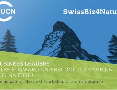 Join SwissBiz4Nature workshop on March 17th, in Bern