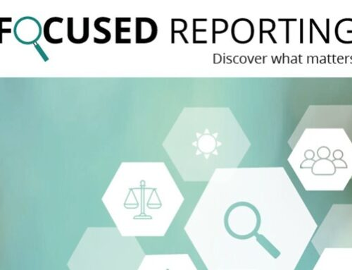 FOCUSED REPORTING – DISCOVER WHAT MATTERS Benchmarking 2021