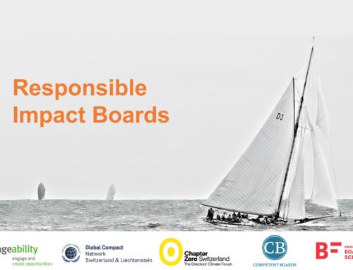 4 Nov | Responsible Impact Boards – Board Trainings